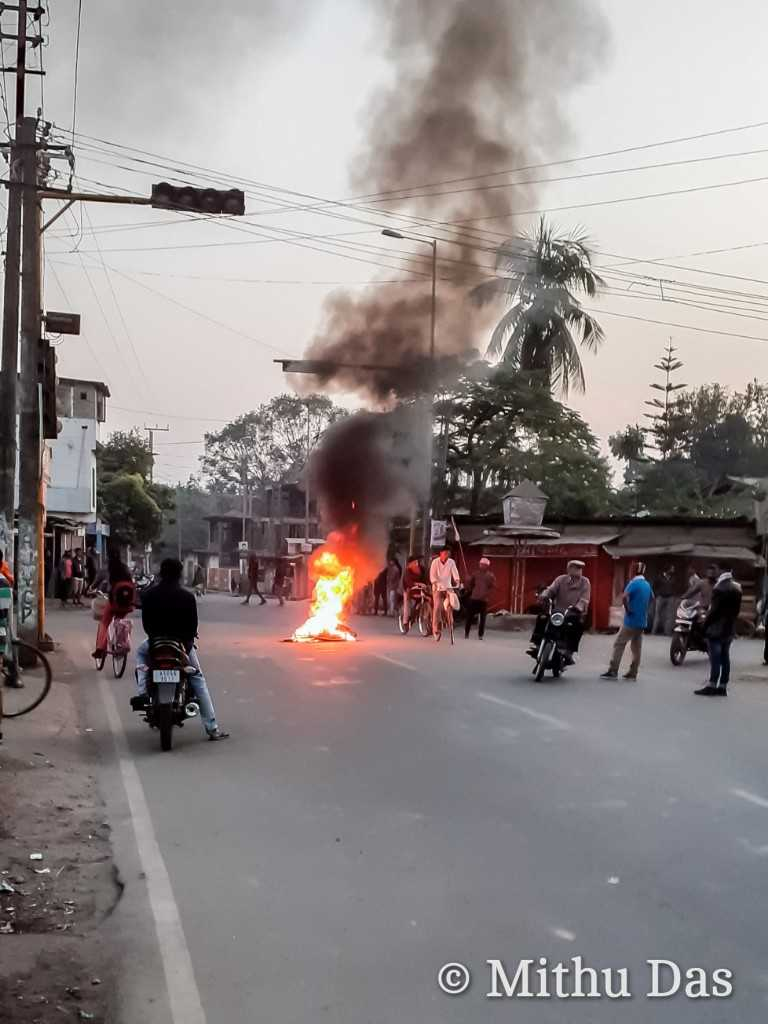 CAB protest in Golaghat