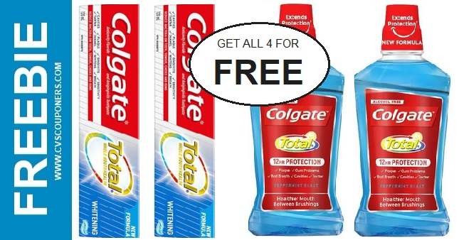 CVS Couponers FREE Colgate Deal 8-23-8-29