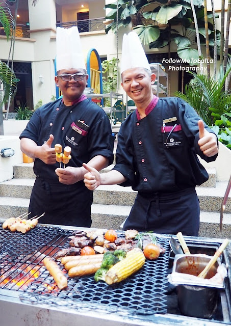 BBQ Chefs At The Grill