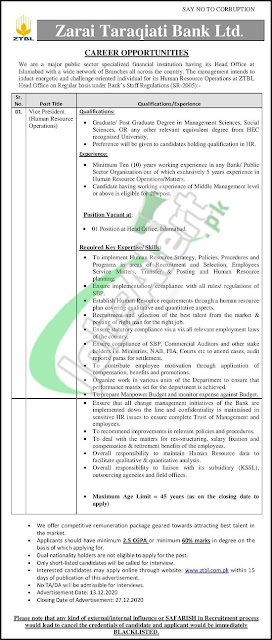 ztbl-vice-president-jobs-december-2020-apply-online-zarai-taraqiati-bank-limited