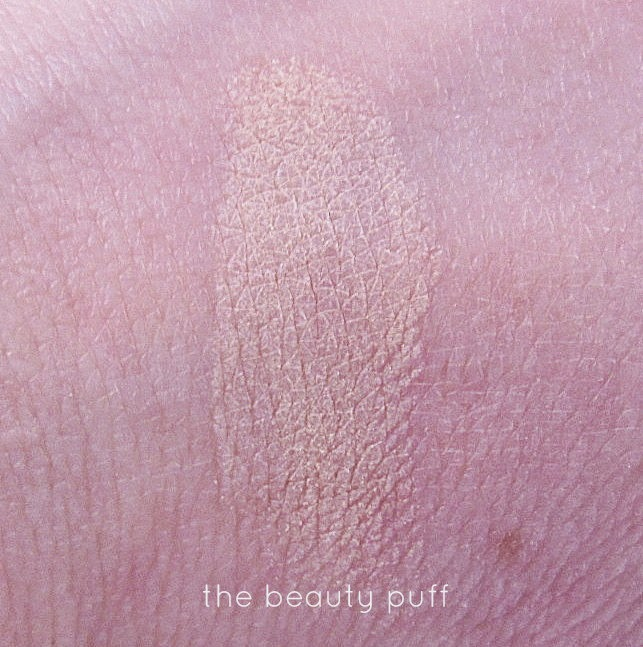 laura geller french vanilla highlight swatch - the beauty puff
