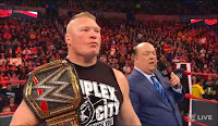 Brock Lesnar enters his name for the 2020 Royal Rumble