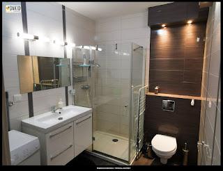 biała łazienka - nowe budownictwo