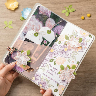 Stampin' Up! Last Chance Favorite: Floral Essence + Perennial Flower Punch ~ www.juliedavison.com #stampinup #lastchance