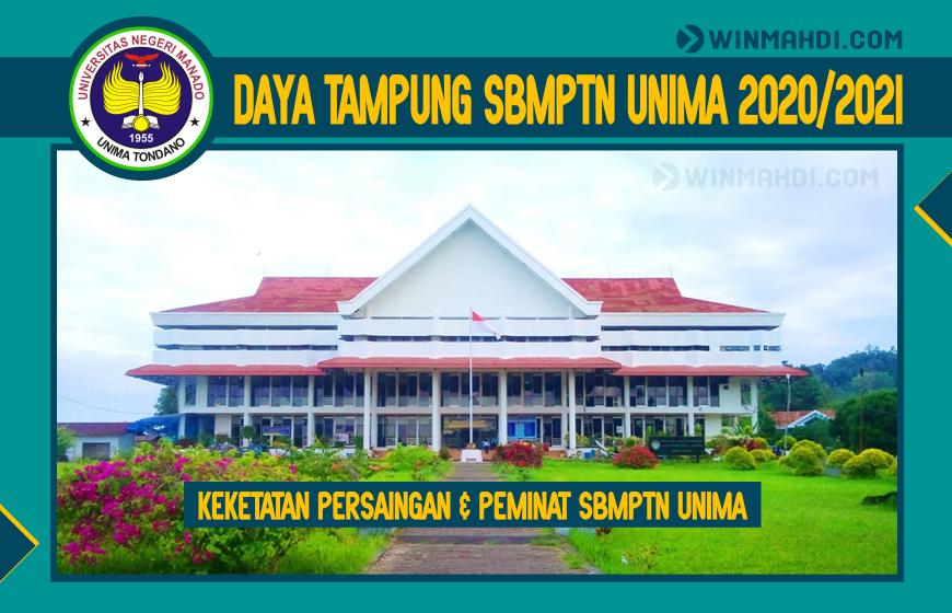 DAYA TAMPUNG SBMPTN UNIMA 2020-2021