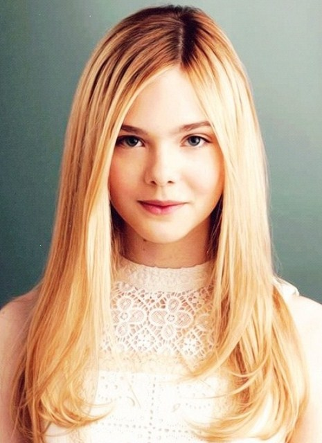 Long Straight Blonde Hairstyles 23