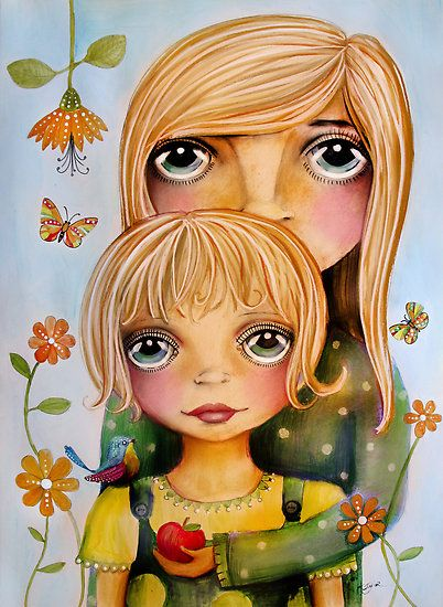 Inner child drawing by Karin Taylor