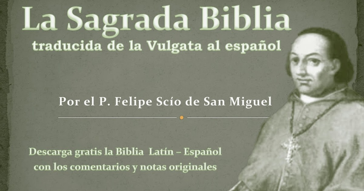 biblia bilingue latin español pdf