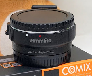 Adapter Commlite EF Canon to Sony