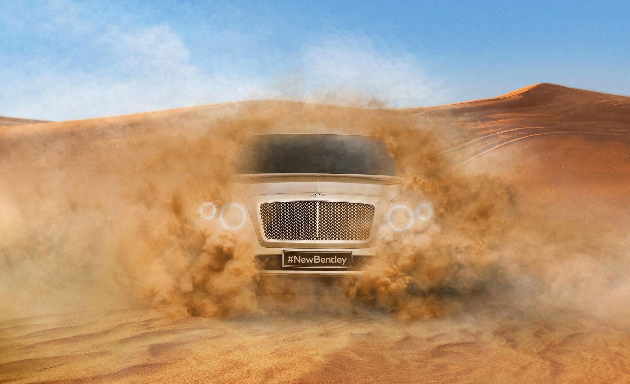 Bentley SUV Photo is Released #NewBentley
