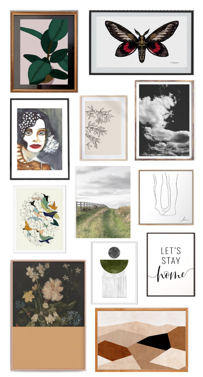 printable artwork round up: an easy and budget friendly way to get art on those walls!