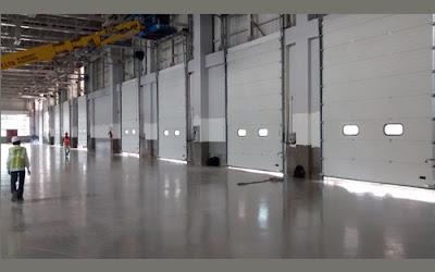 Puff Panel Doors, sectional doors