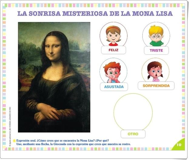 """Proyecto de Educación Infantil de 4 años """"Leonardo Da Vinci"""" (Colección """"¡Me interesa!"""" de Editorial Algaida)"""
