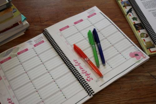 Open Brave Homeschool Planner