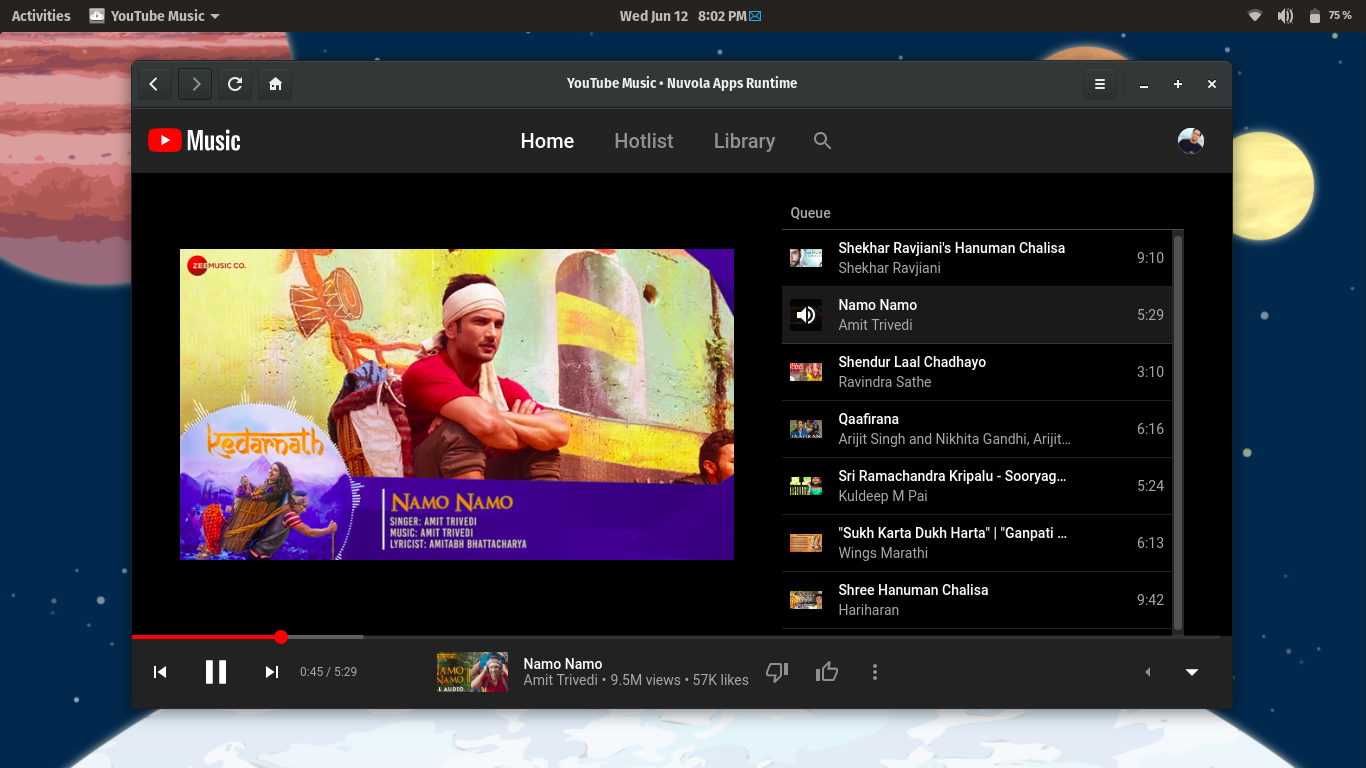 YouTube Music On Linux