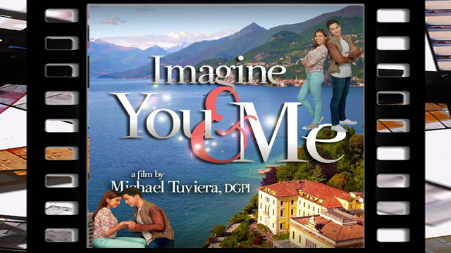 Imagine You and Me is a 2016 Philippine romantic comedy film directed by Mike Tuviera starring Alden Richards and Maine Mendoza