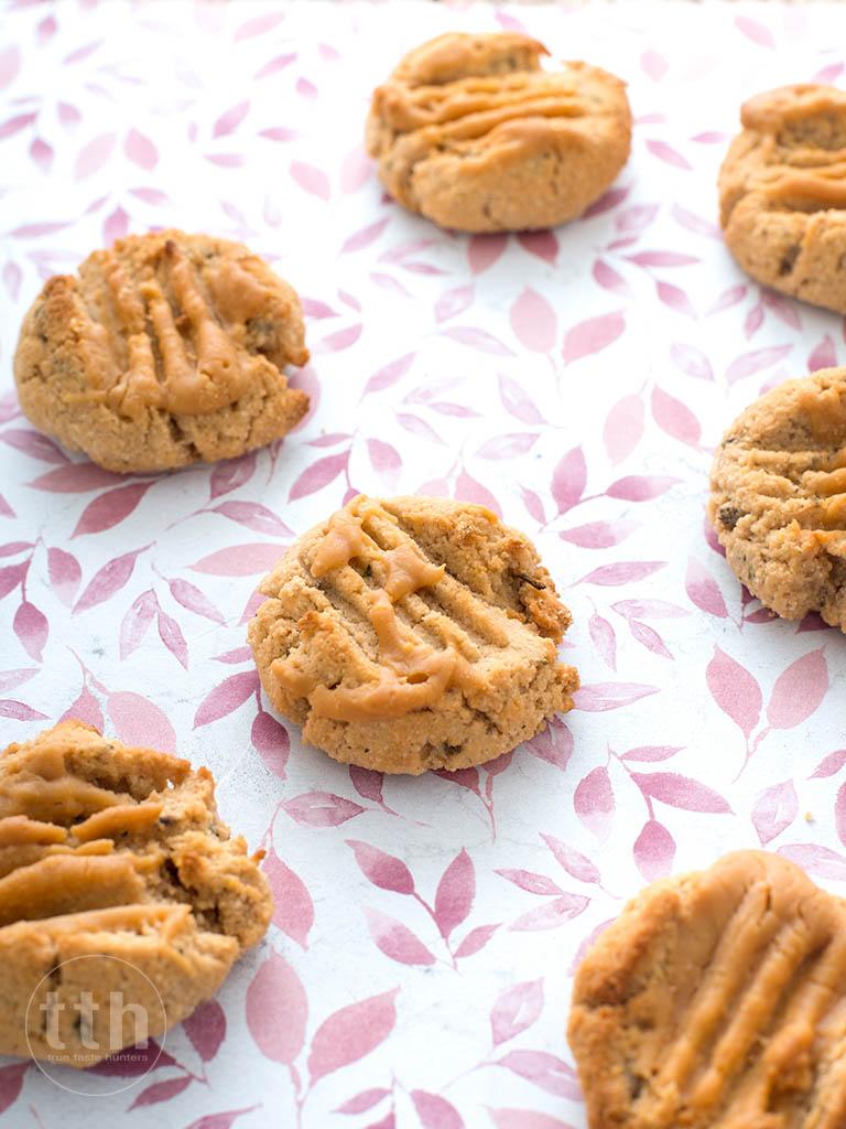 Kokosowe ciasteczka z lawendą