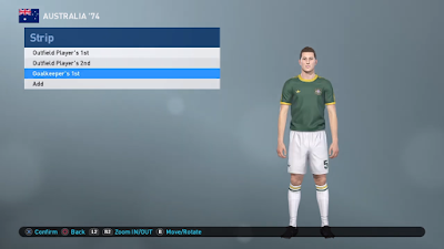 PES 2019 PS4 Classic Option File FIFA World Cup 1974 by Zsolt72