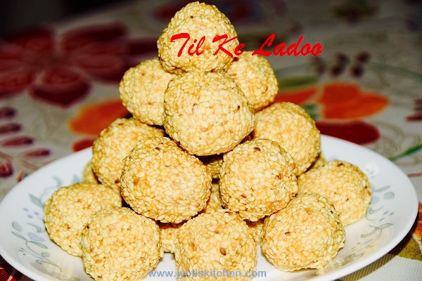 Til Ke Ladoo Recipe with step by step by photo