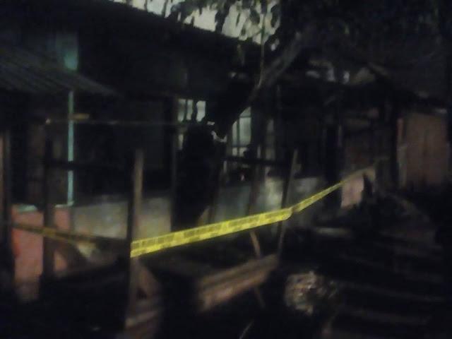 Akibat Bakar Sampah, Kios Dinamo dan Reparasi TV Terbakar