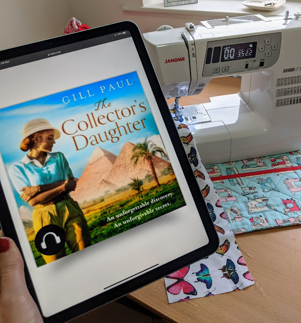 sewing machine audio book The Collectors Daughter