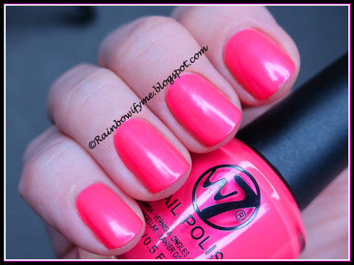 W7 ~ 14 Flourescent Pink