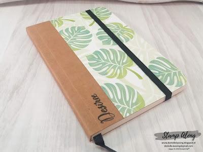Stampin'Up! Tropical Chic notitieboekje
