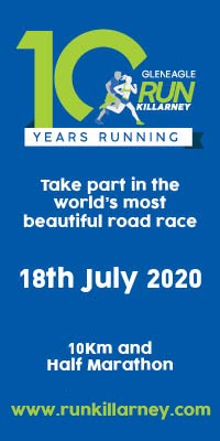 Scenic Half-Marathon & 10k in Killarney - Sat 18th July 2020