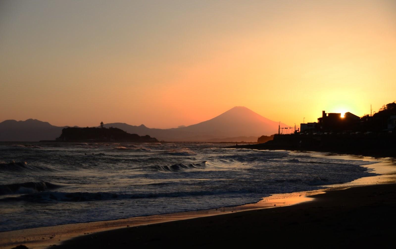 江之島 日落的圖片搜尋結果