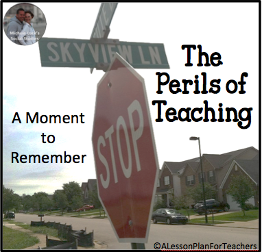 A fun story on the perils of teaching!
