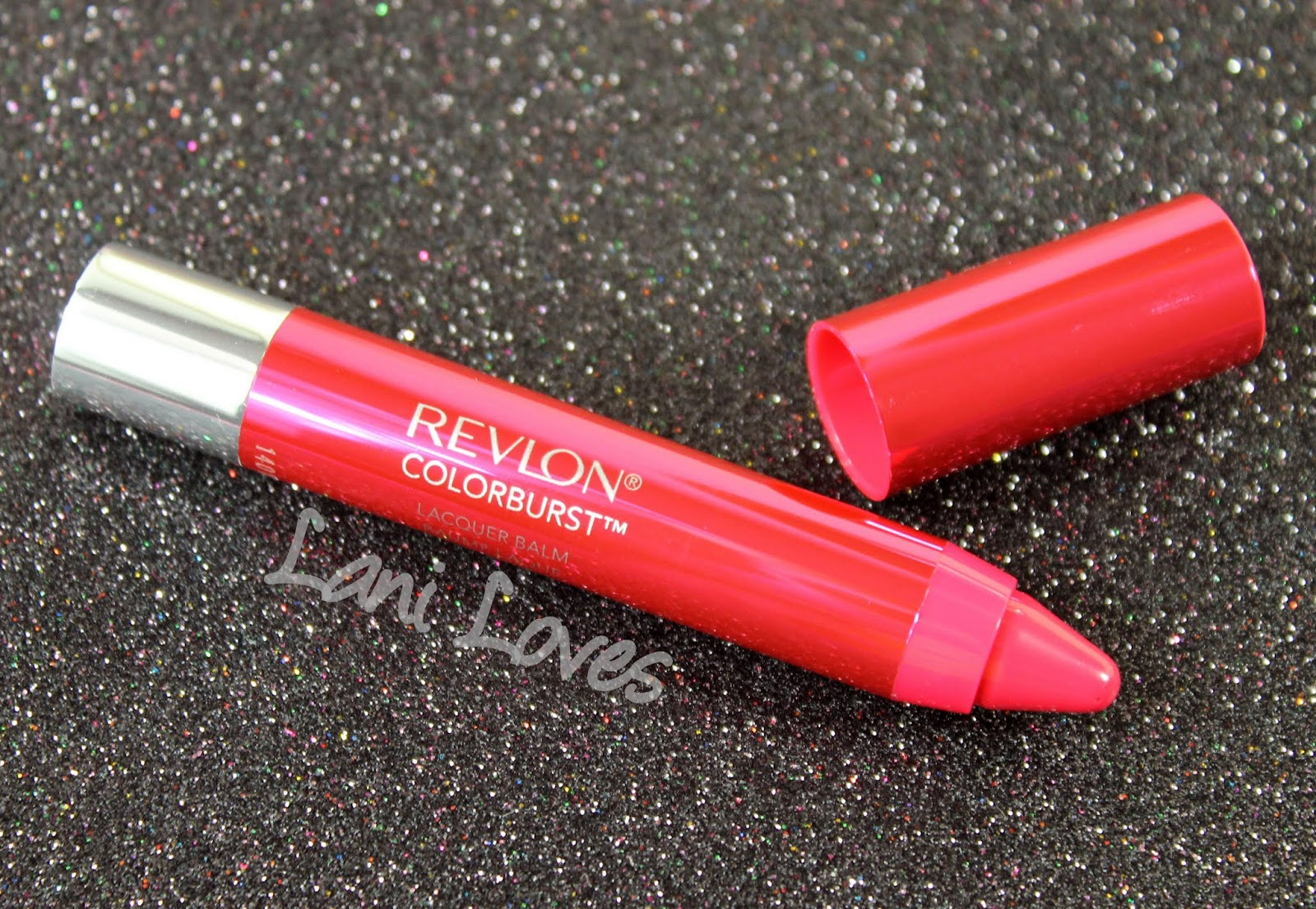 Revlon Colorburst Lacquer Balm - Vivacious Swatches & Review