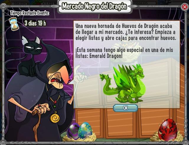 dragon esmeralda gran premio del mercado negro del dragon