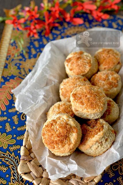 gula melaka coconut scones vegan