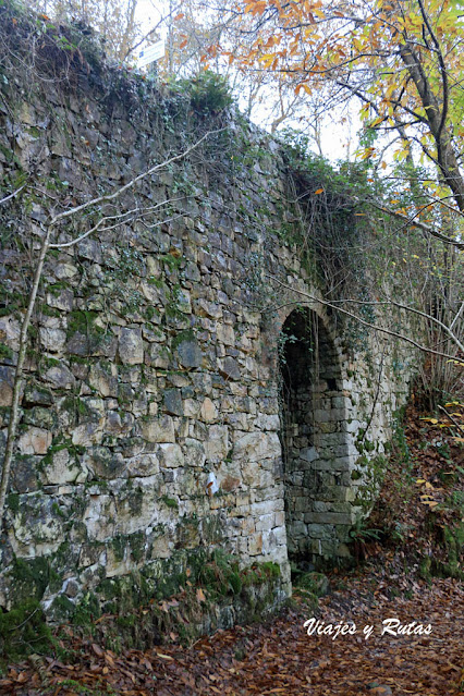 Puente Carcavón de la Cascada del Nonaya, Asturias