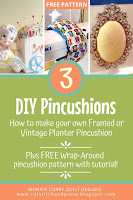 Three DIY Pincushion Projects - Quilting Tutorial
