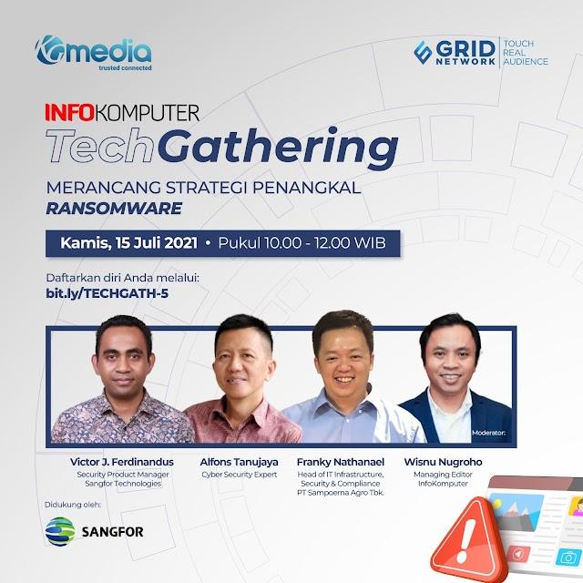 Merancang Strategi Menangkal Ransomware - InfoKomputer Tech Gathering