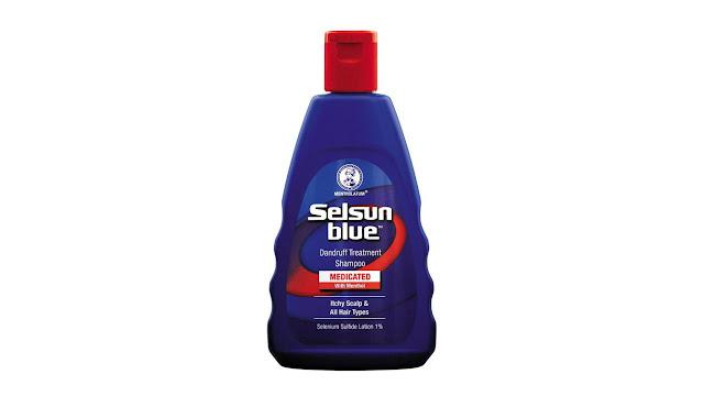 Mentholatum Selsun Blue Dandruff Treatment Shampoo