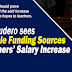 4 Possible Funding Sources for Teachers' Salary Hike