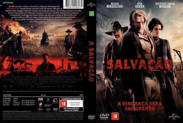 Capa DVD A Salvação