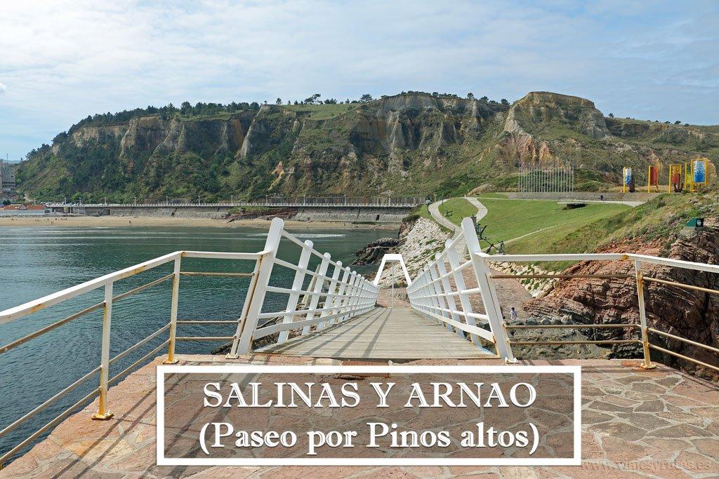 Ruta de Pinos Altos entre Salinas y Arnao, Asturias