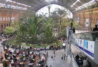 Madrid, Estación de Atocha.