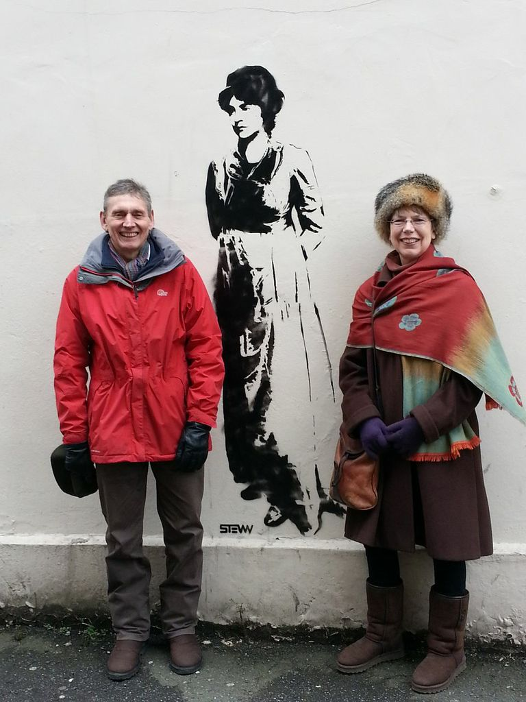 A Vindication of the Rights of Mary: More on Mary's manifestation and  Stewy's streetart