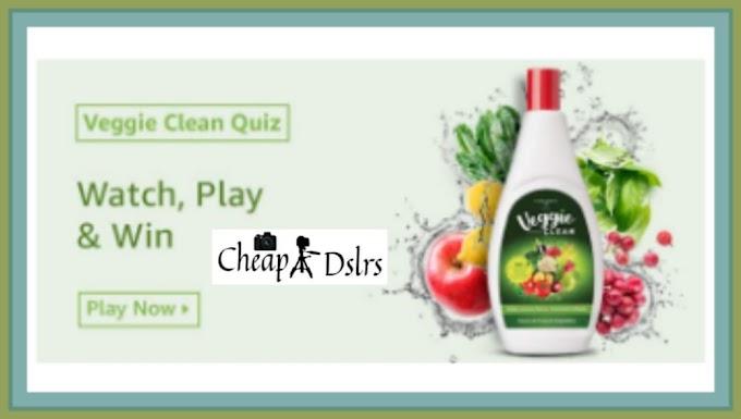 Amazon Veggie Clean Quiz Answers – Win Rs.10000