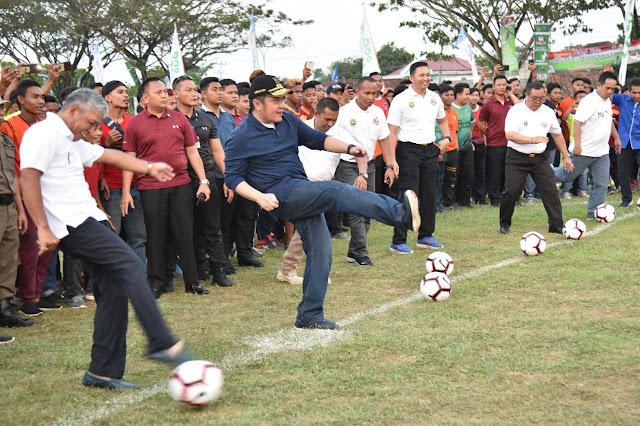 Herman Deru: Sepakbola Harus Jadi Icon di Seluruh Kabupaten Kota di Sumsel