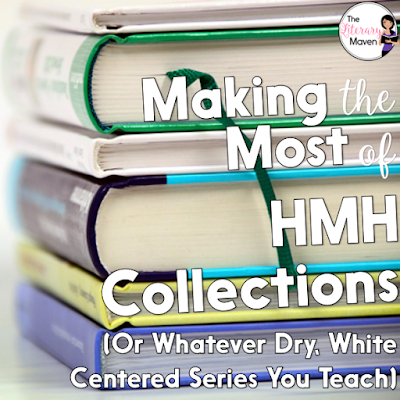 Houghton Mifflin Harcourt's Collections curriculum is often criticized for its dry, not so diverse texts and the lack of supplemental materials. You may find that the curriculum you are using has similar issues. Read on for how I deal with both.