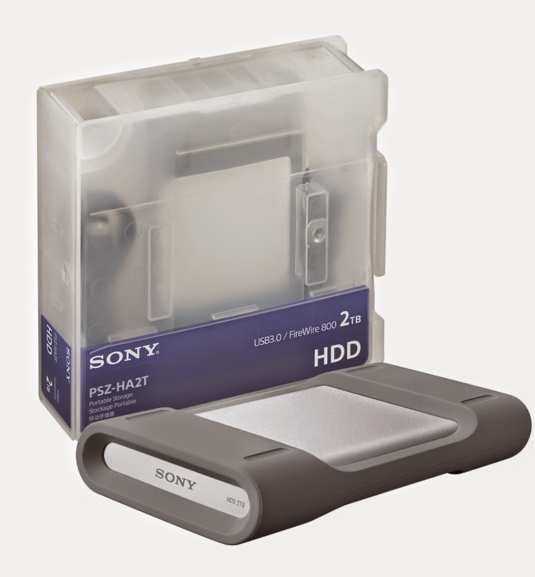 sony 2 tb PSZ-HA2T Portable HDD