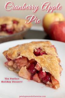 Amazing Cranberry Apple Pie.