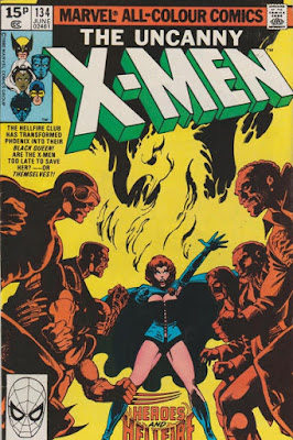 Uncanny X-Men #134, Phoenx vs the Hellfire Club