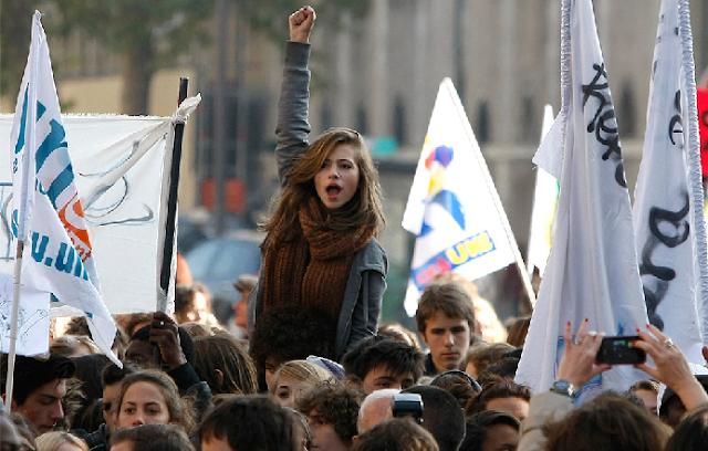 Nueva jornada de movilizaciones en Francia contra reforma laboral