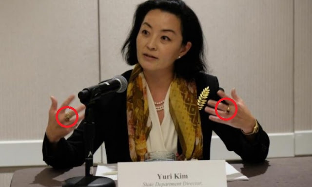 US ambassador Yuri Kim tells on Women's Day of why she holds two rings